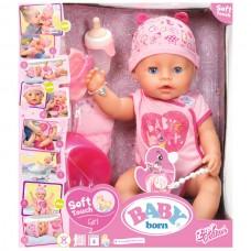 Кукла интерактивная Zapf Creation Baby born 825938, 43 см
