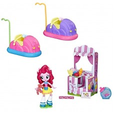 Игровой набор с мини-куклой Пинки Пай Веселье с машинками и сладостями b8824-e2619 Hasbro