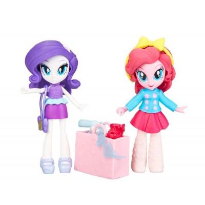 Набор игровой MLP Equestria Girls Мини-кукла Пинки Пай и Рарити e4243-e3130 Hasbro