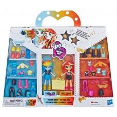Набор игровой MLP Equestria Girls Мини-кукла Лучшие друзья Радуга Дэш и Сансет e4244-e3130 Hasbro