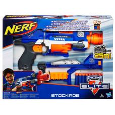Бластер 98695 Nerf Elite Stockade Hasbro