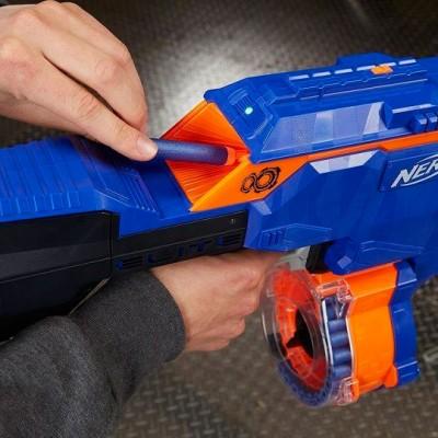 "Бластер Nerf Infinus ""Инфинус"" (автоматический), E0438 Nerf Hasbro"