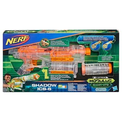 Бластер Nerf Модулус Шэдоу Shadow ICS-6 E2655 Hasbro