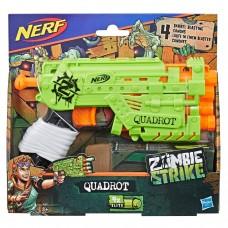 Бластер Nerf Зомби Страйк Квадрот Quadrot E2673 Hasbro