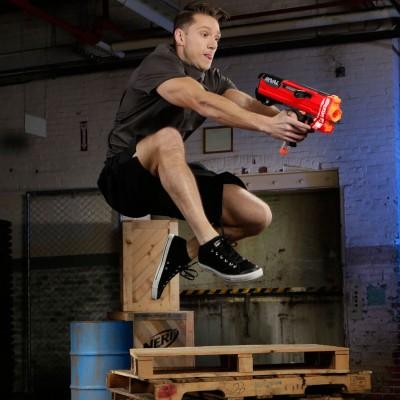 Бластер Hasbro Nerf Rival Helios Гелиос Райвл с шариками красный E3108-E3378 Hasbro