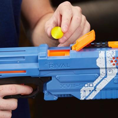 Бластер Hasbro Nerf Rival Kronos Кронос Райвл с шариками синий E3109-E3381 Hasbro