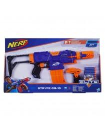 """Бластер Нерф """"Элит"""" - Супер Страйф, e2341 Hasbro Nerf"""