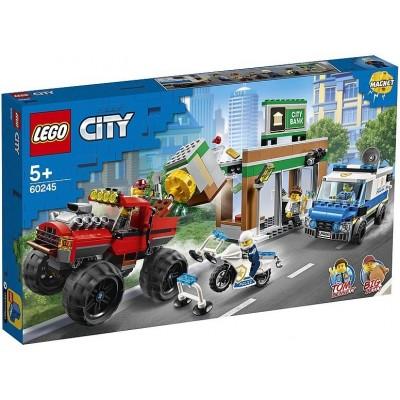 Ограбление полицейского монстр-трака 60245 Lego City