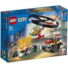 Пожарный спасательный вертолёт 60248 Lego City