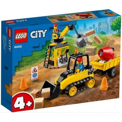 Строительный бульдозер 60252 Lego City