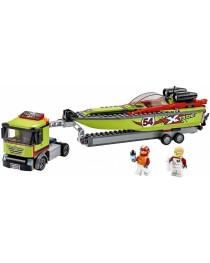 Транспортировщик скоростных катеров 60254 Lego City