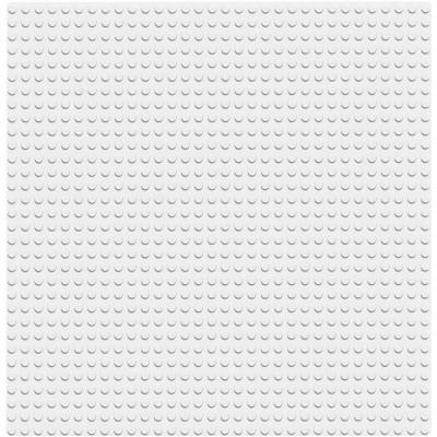 Белая базовая пластина 11010 Lego Classic