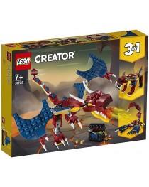Огненный дракон 31102 Lego Creator