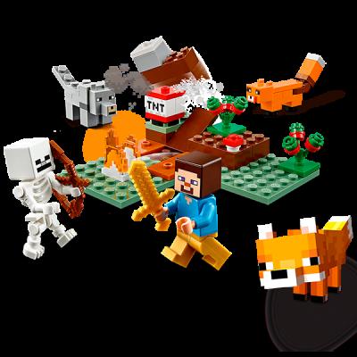 21162 LEGO Minecraft Приключения в тайге