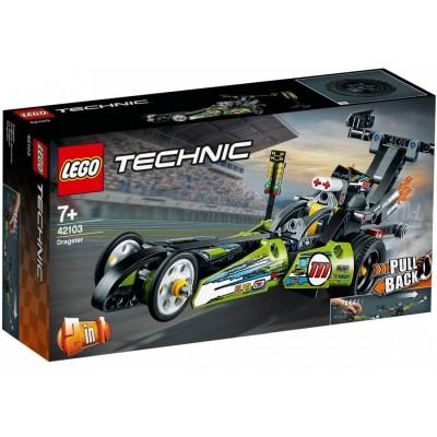 Драгстер 42103 Lego Technic