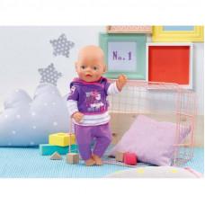 Набор спортивной одежды для кукол Baby Born (фиолетовый), 822166 Zapf
