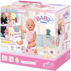 Интерактивный горшочек Zapf для куклы Baby Born, 822531 Zapf