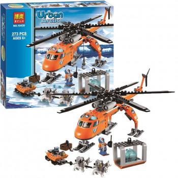 Арктический вертолет (аналог лего 60034), 10439 Bela