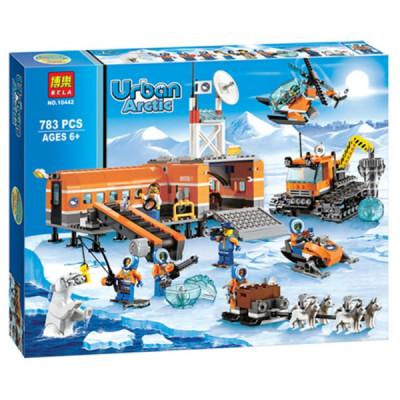 Арктическая база (аналог лего 60036), 10442 Bela