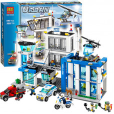 Полицейский участок (аналог лего 60047), 10424 Bela