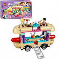 Парк развлечений: фургон с хот-догами (аналог лего 41129), 10559 Bela