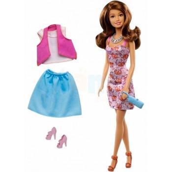 Кукла Барби Тереза (брюнетка) Модный гардероб, DMM56-DMK55 Barbie Mattel