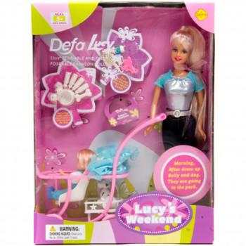 Кукла с коляской, 20958 Defa