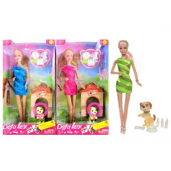 Кукла с собачкой, 8232 Defa