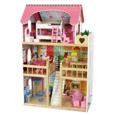 Кукольный домик ECO TOYS Malinowa, 4109 Eco Toys