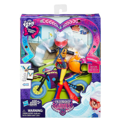 "Кукла Шугаркоут Гонщица ""Friendship Games"", b1772 Hasbro"