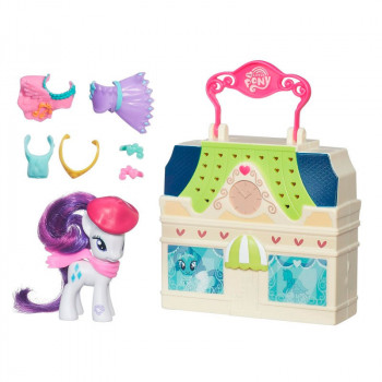 """Мейнхеттен"" с пони Рарити My Little Pony, b3604 Hasbro"