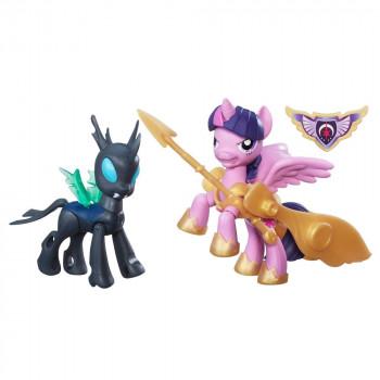 "My Little Pony B7297-B6009 Коллекция ""Стражи гармонии"" Принцесса Твайлайт против Чейнжлинг  Hasbro"