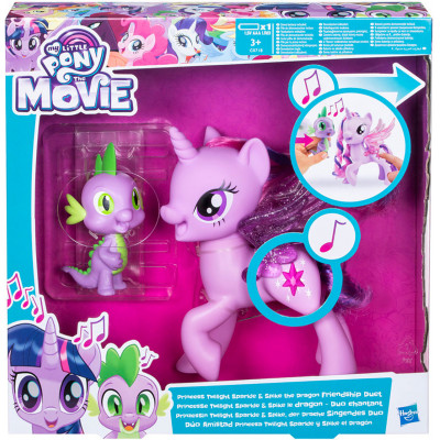 Поющая Твайлайт Спаркл и Спайк My Little Pony, c0718 Hasbro
