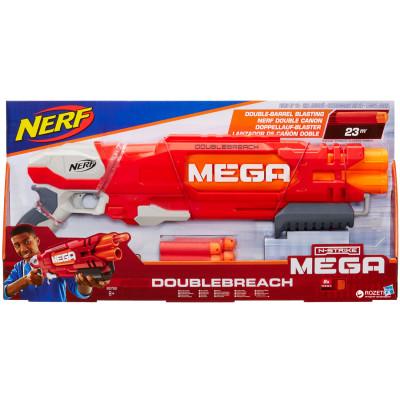 "Бластер Nerf Mega ""Даблбрич"", b9789 Hasbro"