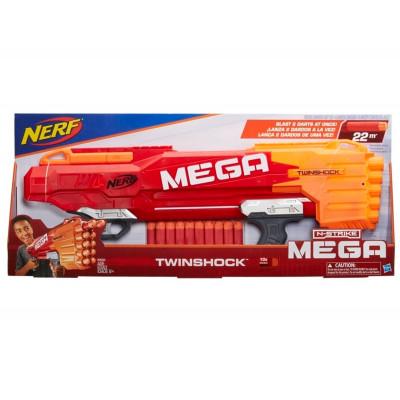 "Бластер Nerf Mega ""Твиншок"", b9894 Hasbro"