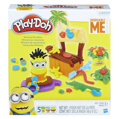 Рай для миньонов, B9028 Play-Doh Hasbro