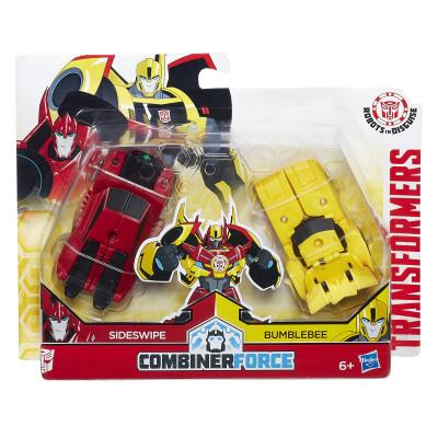 """Трансформеры """"Combiner Force"""" Сайдсвайп и Бамблби, c0628-c0630 hasbro"""