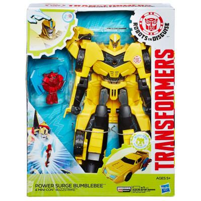 """Трансформеры """"Роботы под прикрытием"""" - Бамблби и миникон Баззстрайк, b7067 Hasbro"""