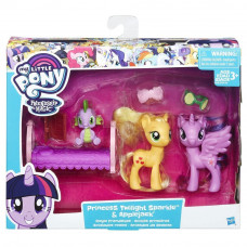 My Little Pony B9160-B9850 Принцессы Твайлайт Спаркл и Эпплджек  Hasbro