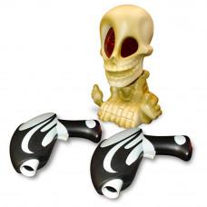 """""""Скелетончик Джонни с двумя пистолетами"""" интерактивная игрушка, EP01493 Fotorama"""