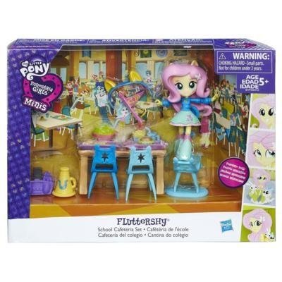 """Пижамная вечеринка"" с мини-куклой Флаттершай My Little Pony, b4910 Hasbro"