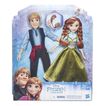 "Набор кукол ""Холодное сердце"" Анна и Кристоф, b5168 Hasbro"