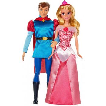 Набор кукол Disney Princess - Спящая красавица и принц, BMB71 Mattel