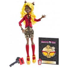 """Кукла Клаудия Вульф Monster High серии """"Страх! Камера! Мотор!"""", BLX21 Mattel"""