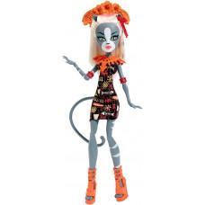 """Кукла Мяулодия Monster High серии """"Монстры отдыхают"""", DKX96 Mattel"""