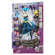 """Кукла Френки Штейн Monster High серии """"Добро пожаловать в Школу Монстров"""", DNX34 Mattel"""
