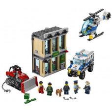 Ограбление на бульдозере, 60140 Lego City