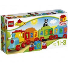 Поезд «Считай и играй», 10847 Lego Duplo