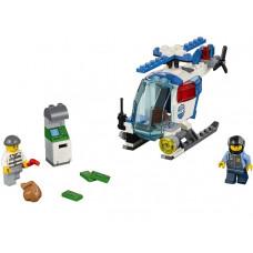 Погоня на полицейском вертолёте, 10720 Lego Juniors