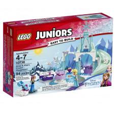 Игровая площадка Эльзы и Анны, 10736 Lego Juniors